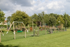 Playground, Fitness Equipment & Tennis Court